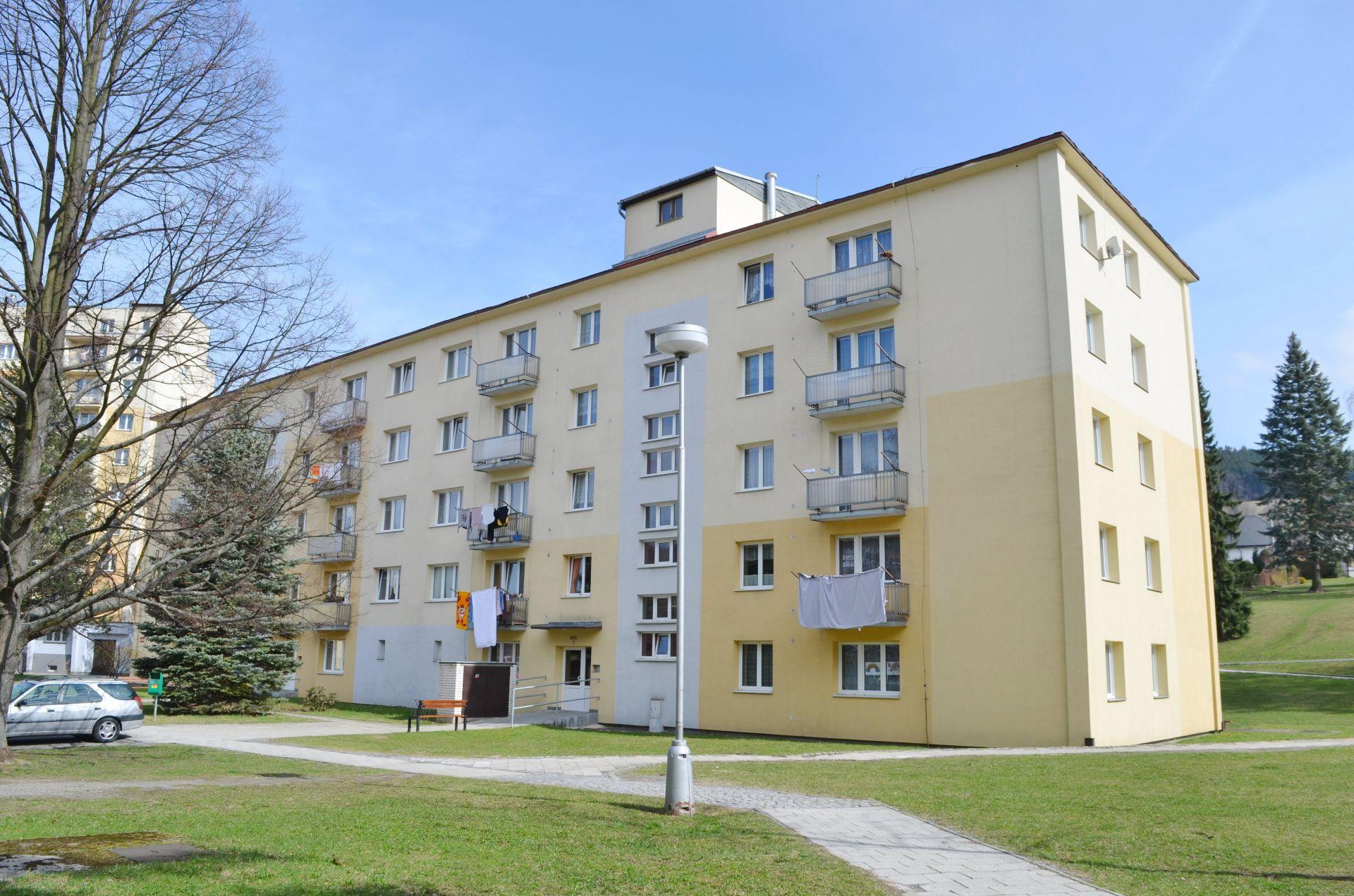 Prodej bytu 2+1 54 m2 v Lázeňském městě Jeseník.